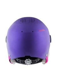 Alpina - ZUPO VISOR - Helmet - violet matt - 1
