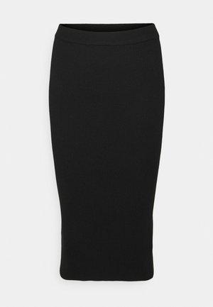 MIDI SKIRT - Pencil skirt - black