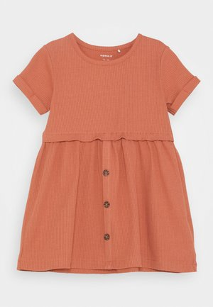 NMFRIBSA  - Shirt dress - cedar wood