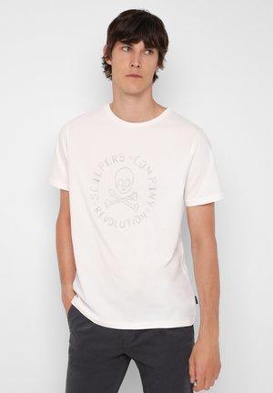 NEW STITCH TEE - T-shirt z nadrukiem - off white