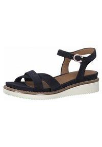 Tamaris - Wedge sandals - navy - 2