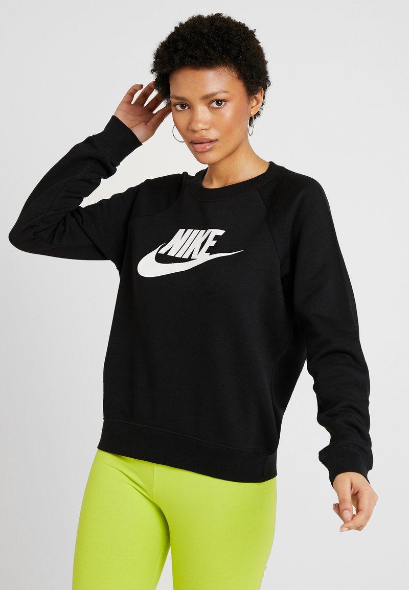 Nike Sportswear - CREW - Sweater - black/white