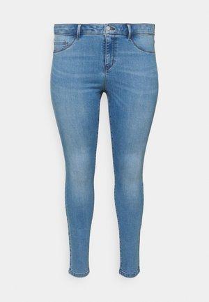 CARFLORIA LIFE - Skinny džíny - light blue denim