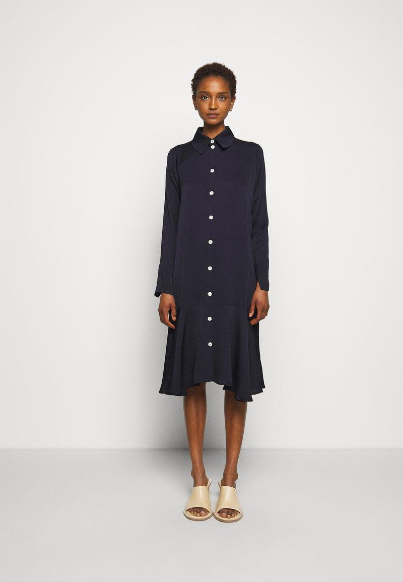 Libertine-Libertine - EASE - Košilové šaty - dark navy