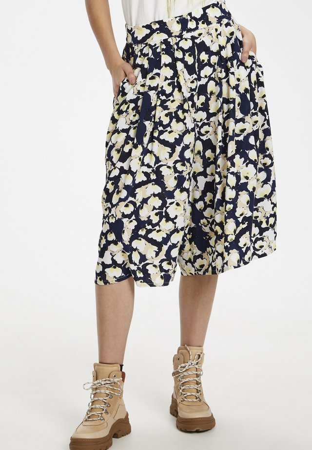 SLRAFINA  - Pantalones - water flower blue