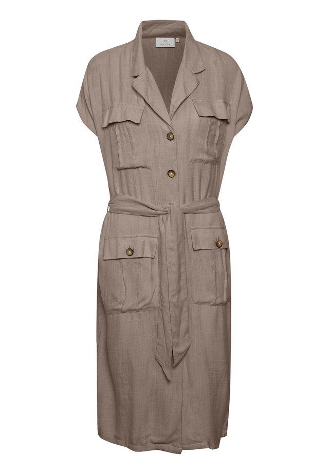 KAIDA  - Shirt dress - ermine