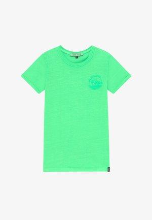 KIDS IRVY - Print T-shirt - neon green