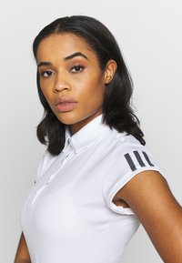 adidas Performance - CLUB - Sports shirt - white/silve/black - 3