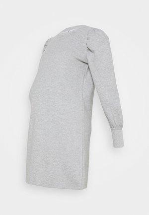 MLBRAELYN DRESS - Jersey dress - light grey melange