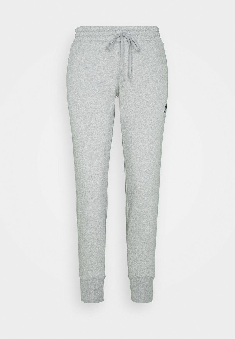 Converse - WOMENS STAR CHEVRON FOUNDATION SIGNATURE PANT - Tracksuit bottoms - vintage grey heather