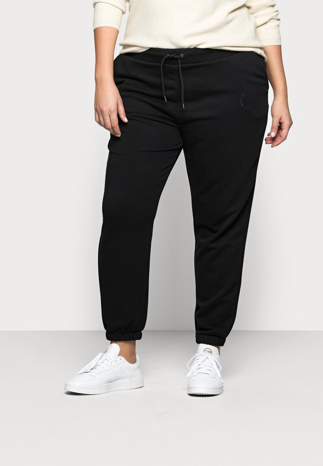 NMLUPA LOGO PANTS - Pantaloni sportivi - black