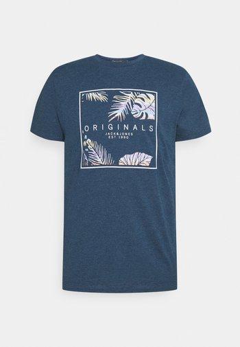 JORHAAZY TEE CREW NECK - Print T-shirt - ensign blue