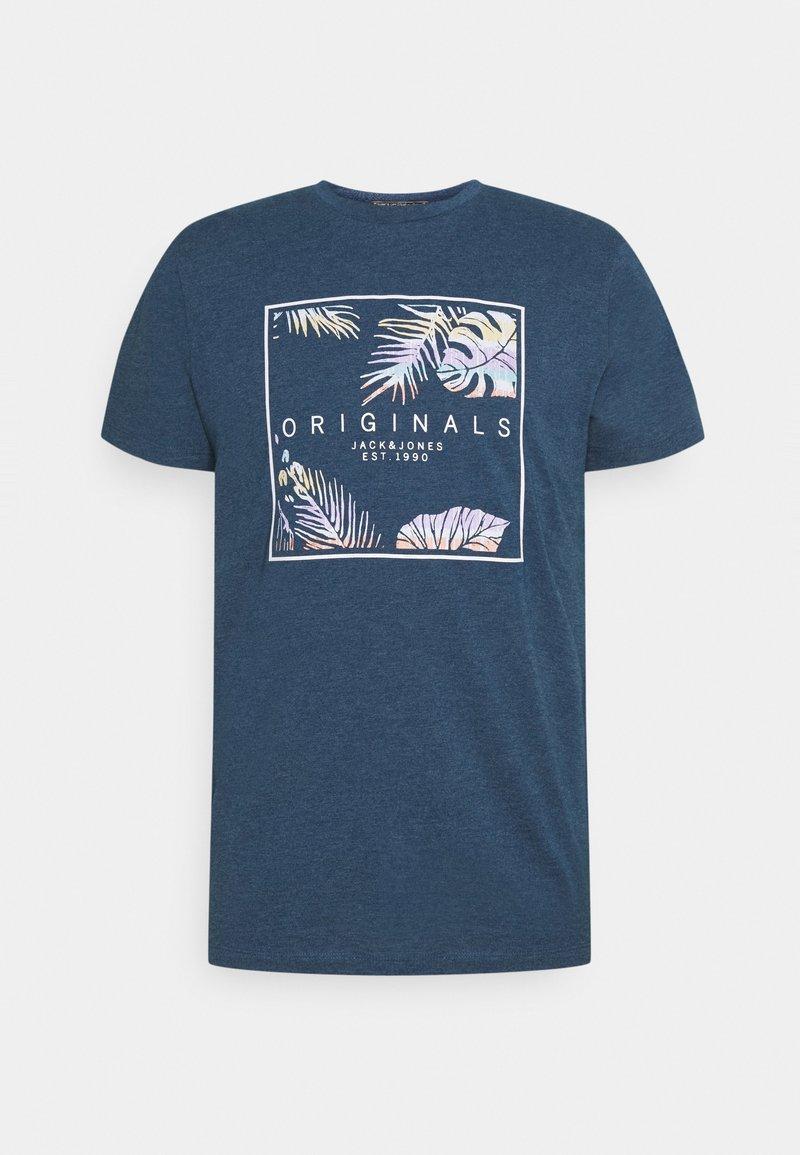 Jack & Jones - JORHAAZY TEE CREW NECK - T-shirt con stampa - ensign blue