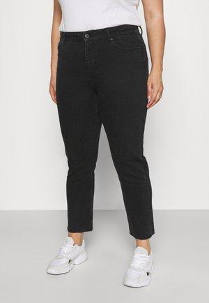 PCLUNA STRAIGHT NOOS - Jeans Skinny Fit - black denim