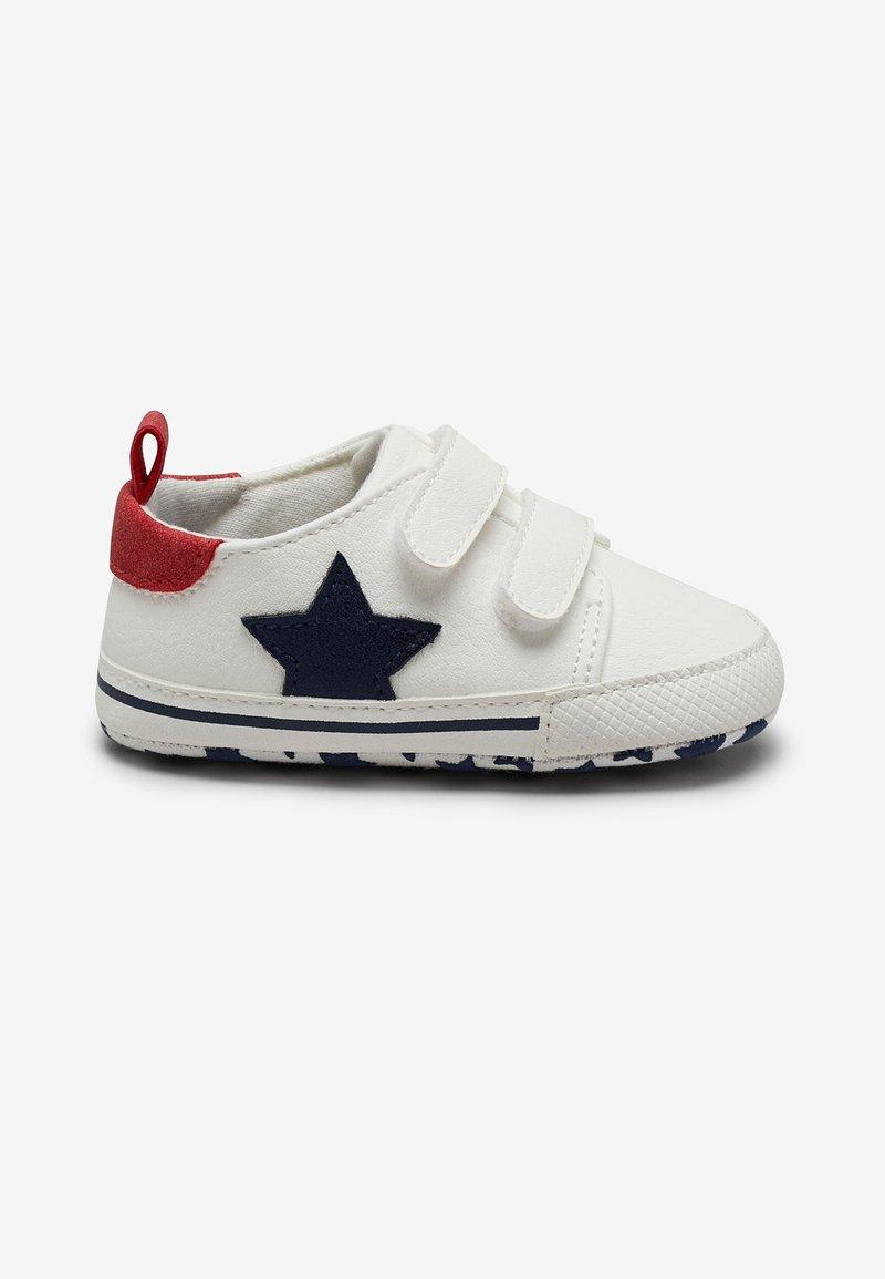 Next - STAR PRAM - Touch-strap shoes - white