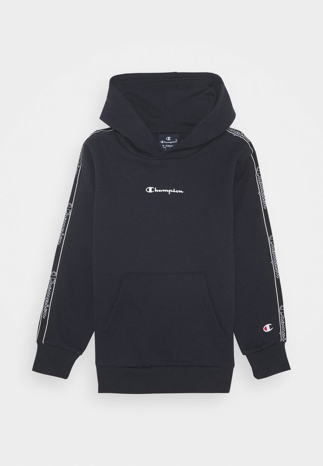 LEGACY AMERICAN TAPE HOODED - Luvtröja - navy