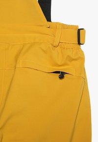 Killtec - GAUROR UNISEX - Zimní kalhoty - gebranntes gelb - 4