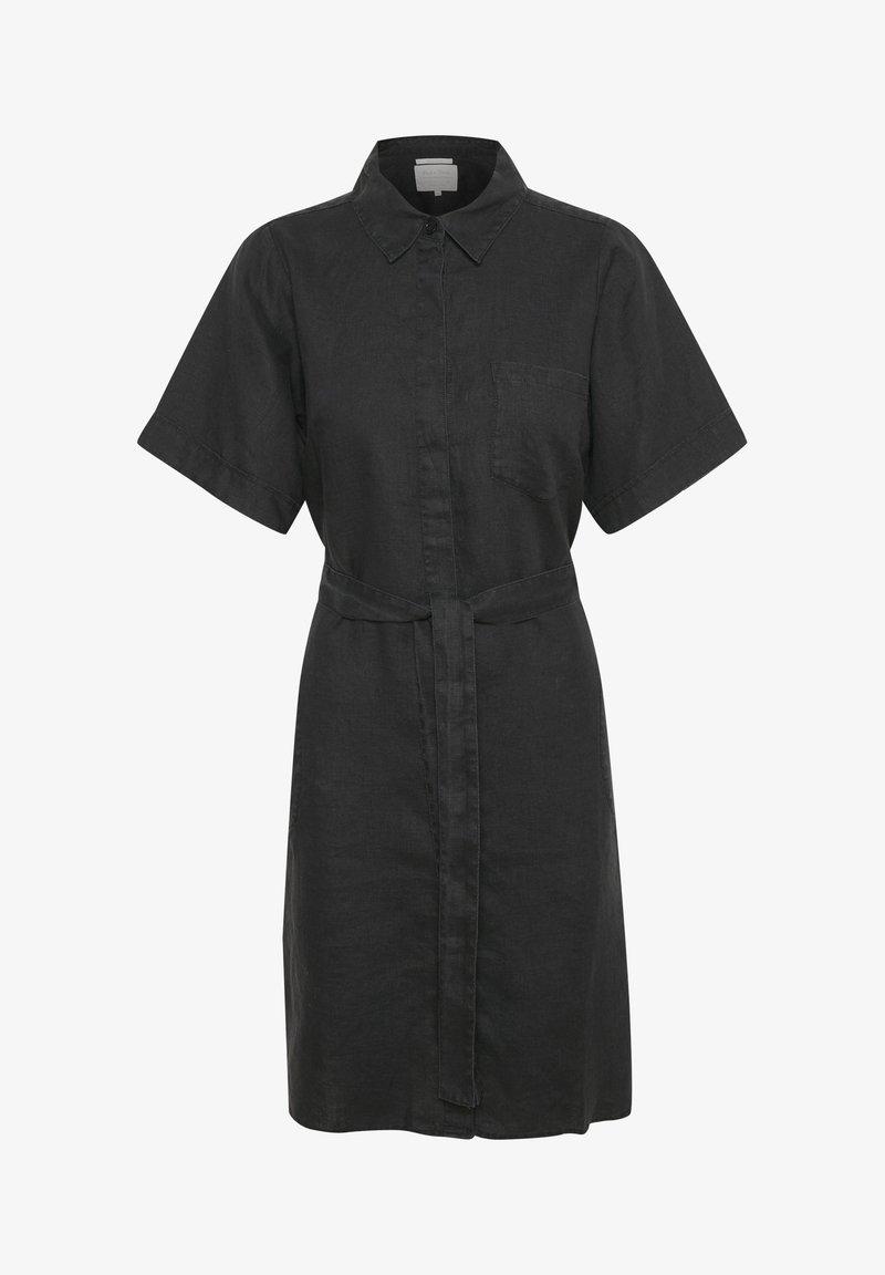 Part Two - Shirt dress - black