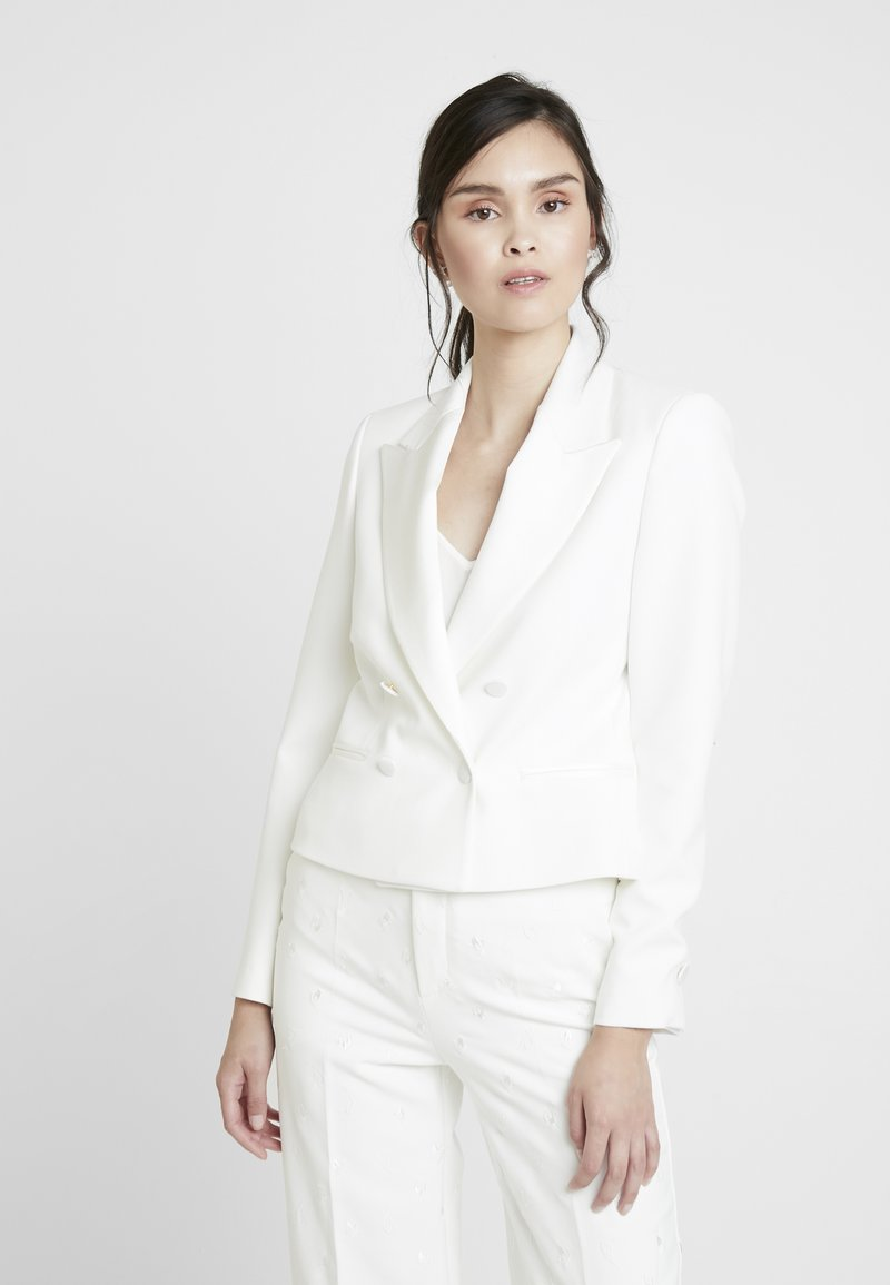 IVY & OAK BRIDAL - SPENCER BRIDAL JACKET - Blazer - snow white