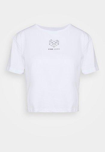 INDIE CROP - T-shirts - white