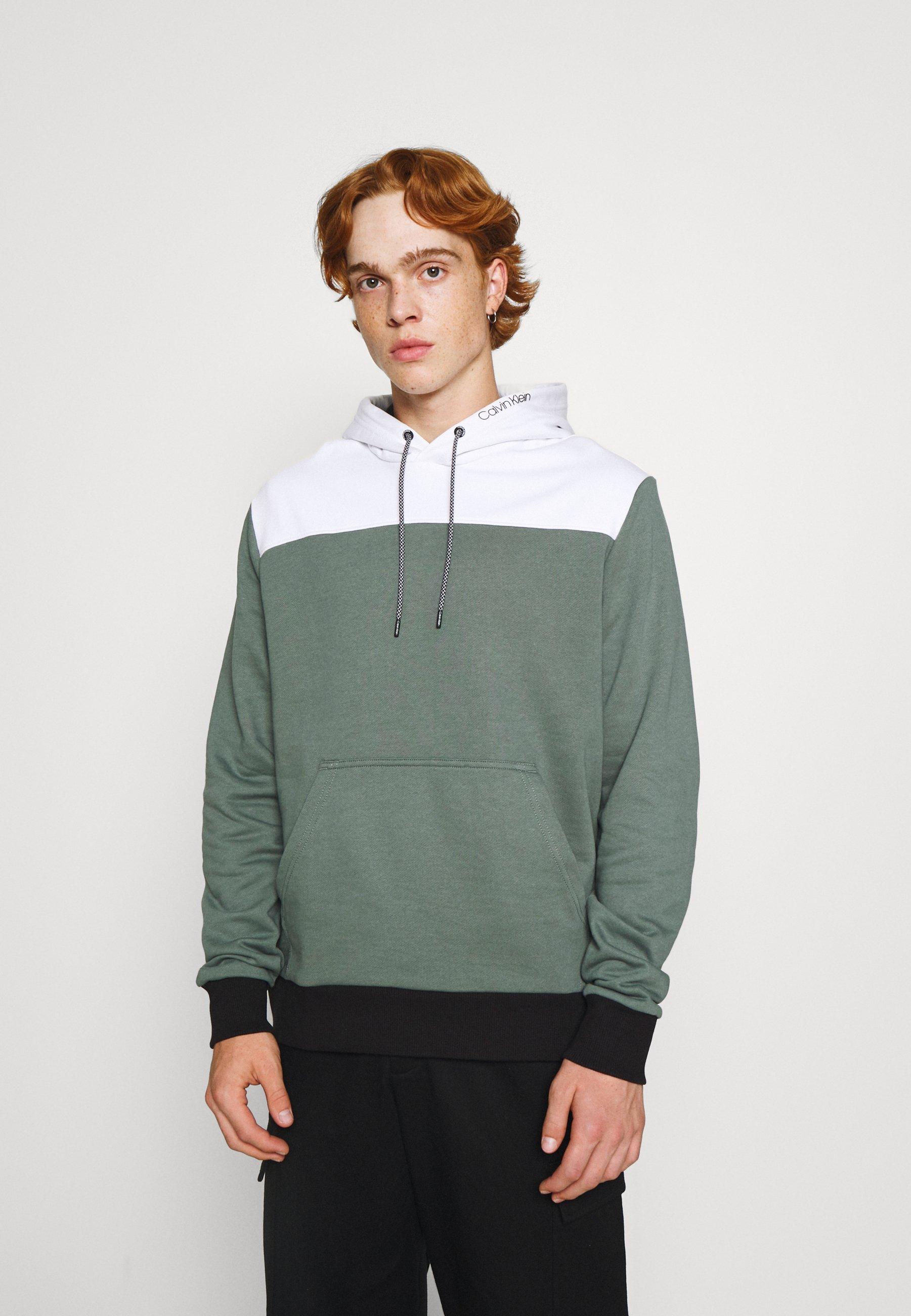 Men TRIPLE COLOR BLOCK HOODIE - Sweatshirt