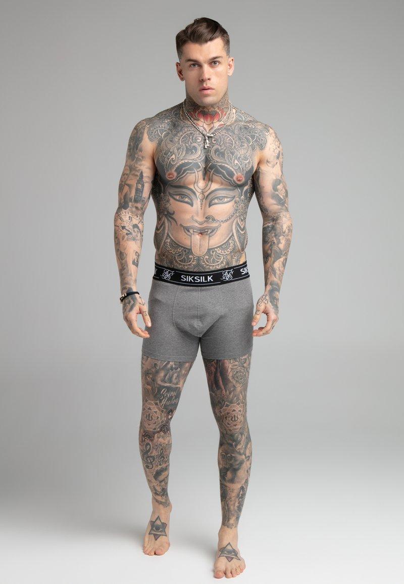 SIKSILK - 3 PACK - Pants - grey