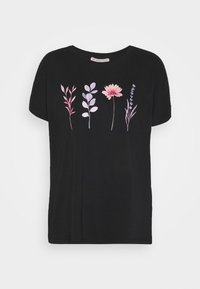 Anna Field - T-shirt imprimé - black - 4