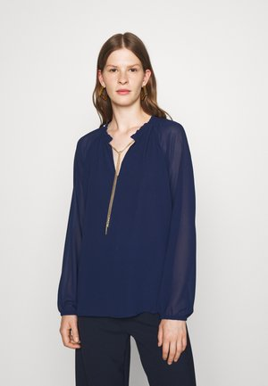 SOLID CHAIN  - Bluse - navy