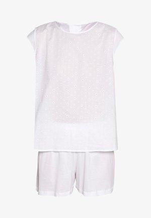KIAH KURZ ARM SET - Pyjamas - white