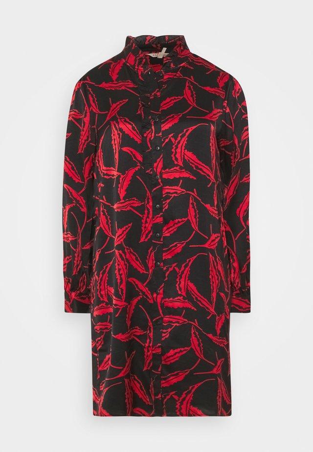 DRESS LONDON AFFAIR - Skjortekjole - black