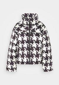 Gina Tricot - PUFFER JACKET - Winter jacket - black/white - 0