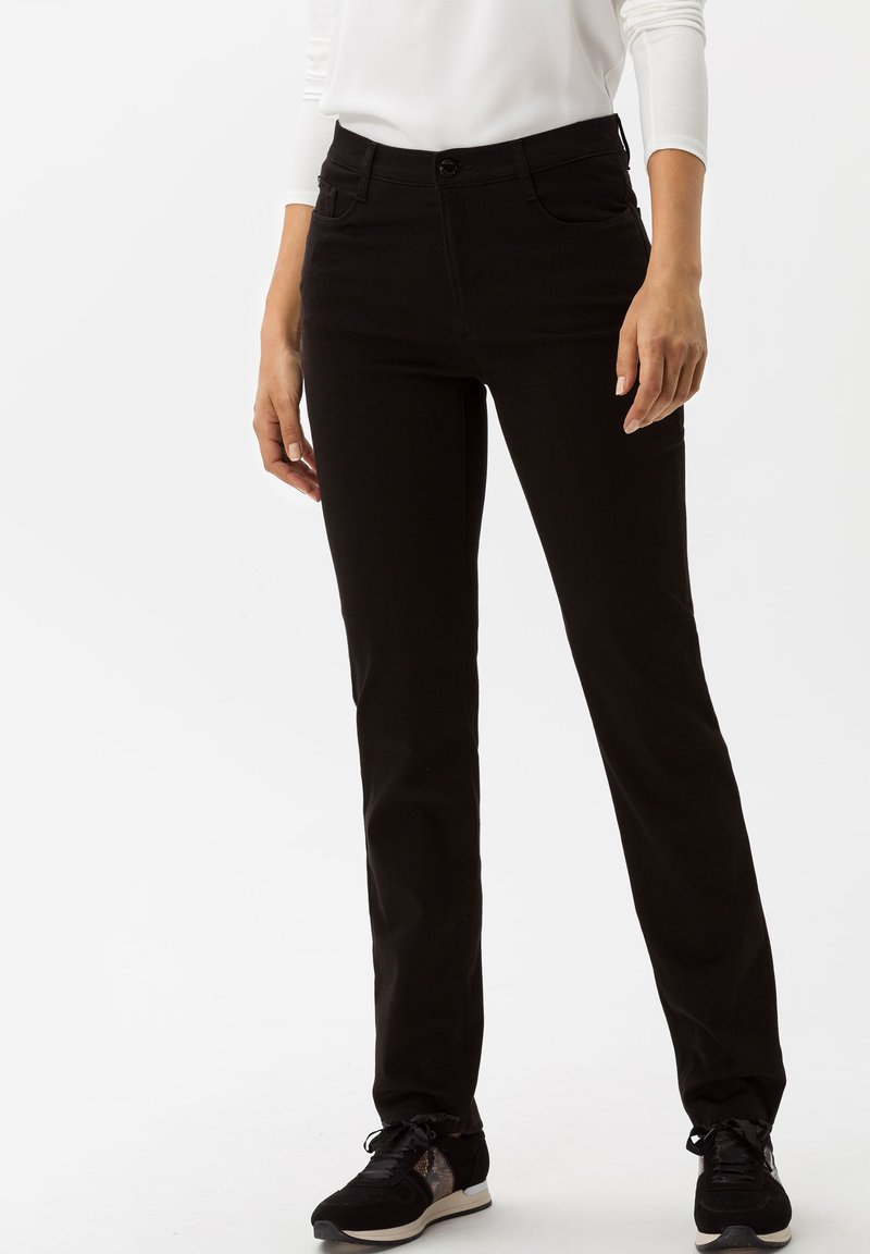 BRAX - STYLE MARY - Trousers - black