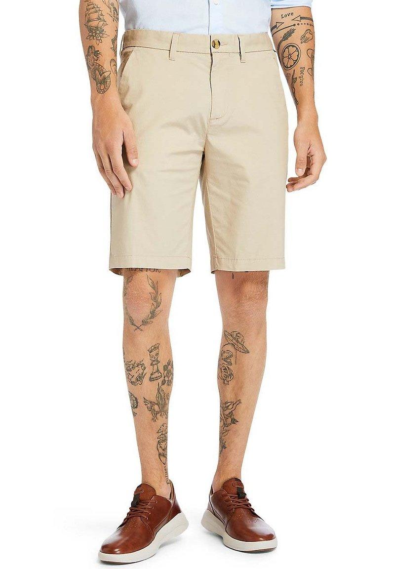 Timberland - SQUAM  - Shorts - beige