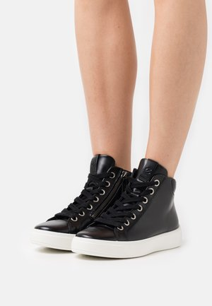 STREET TRAY  - High-top trainers - black