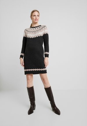 DRESS - Jumper dress - anthracite