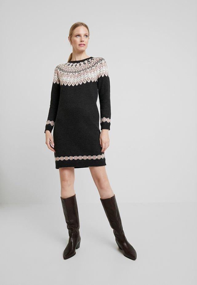 DRESS - Neulemekko - anthracite