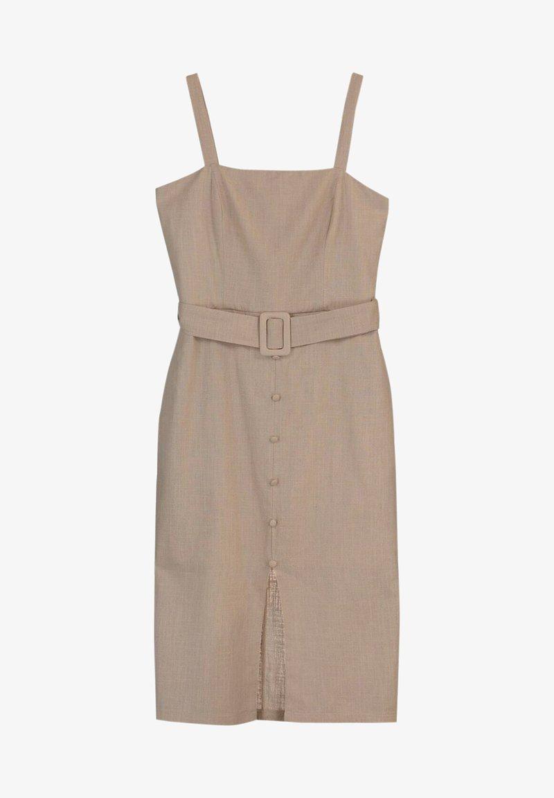 Trendyol - Shift dress - brown
