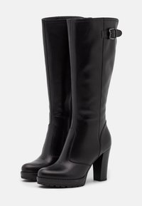 Anna Field - LEATHER - High heeled boots - black - 2