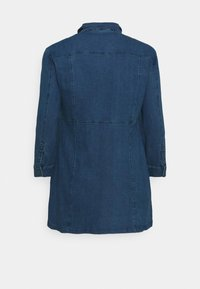 Noisy May Curve - NMLISA ZIP DRESS - Denim dress - medium blue denim - 7