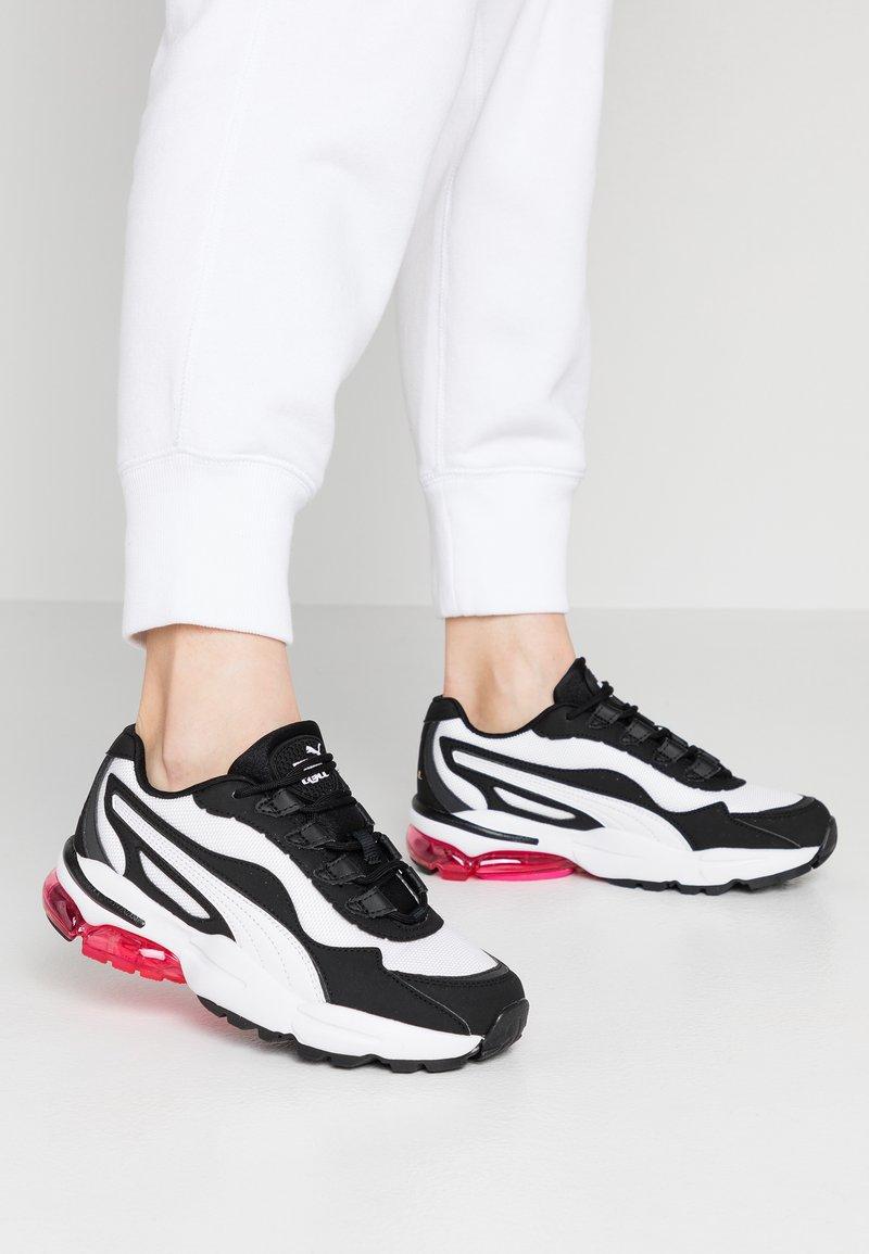 Puma - CELL STELLAR - Sneakersy niskie - white/black