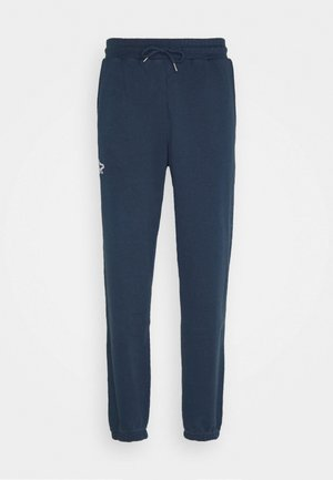 Tracksuit bottoms - faded navy/white