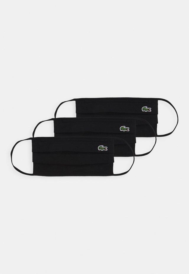 UNISEX 3 PACK - Masque en tissu - black