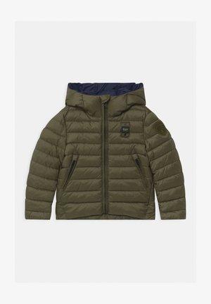 GIUBBINI CORTI IMBOTTITO OVATTA - Winter jacket - khaki