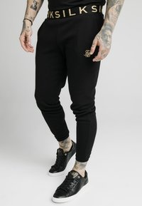 SIKSILK - PANT - Pantalones deportivos - black - 0