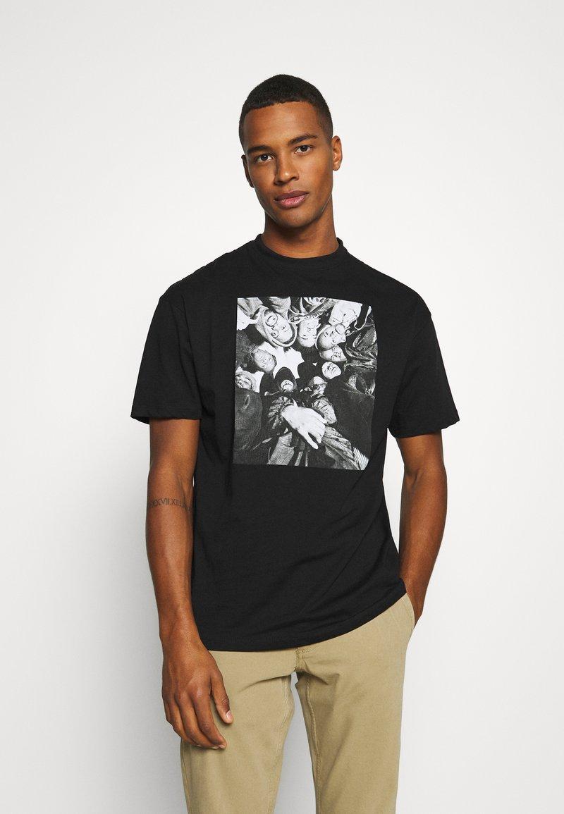 Chi Modu - DONNA BILL - Print T-shirt - black