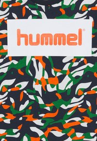 Hummel - HMLJAMES - Print T-shirt - blue nights - 2