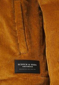 Scotch & Soda - CORDUROY COACH JACKET - Summer jacket - camel - 2