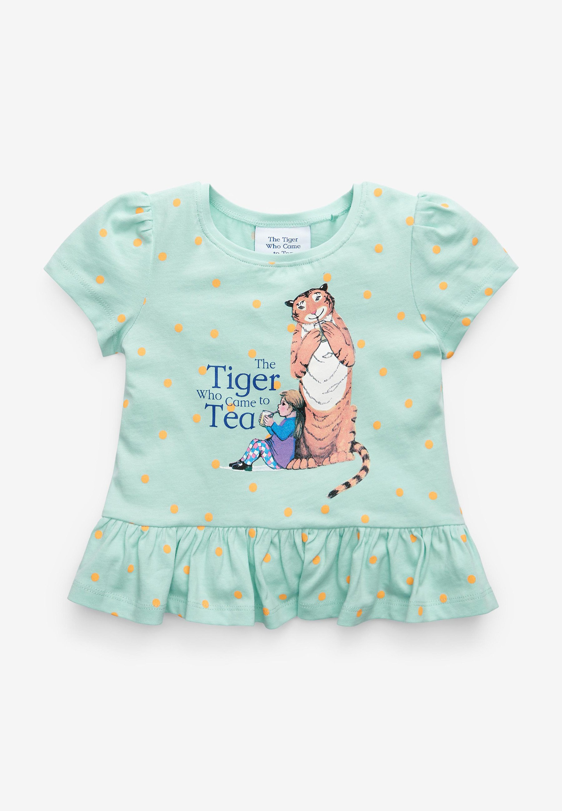 Bambini THE TIGER WHO CAME TO TEA - T-shirt con stampa