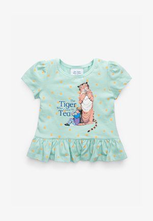 THE TIGER WHO CAME TO TEA - Print T-shirt - blue