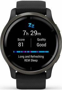 Garmin - Smartwatch - schwarz - 12
